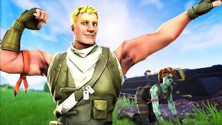 How I turned my no skin into a PRO fortnite player
