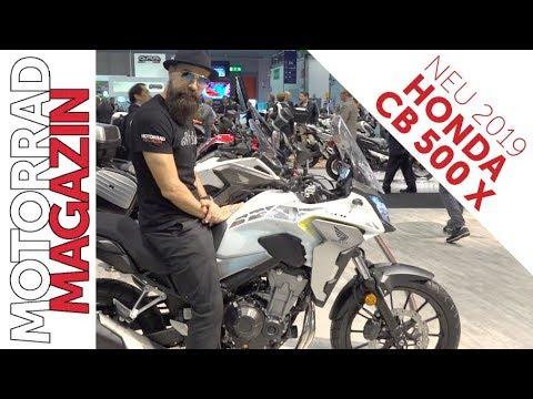 Honda CB500X 2019 - Africa Twin im Kompaktformat