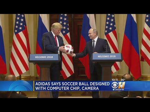 Putin Soccer Ball Gift To Trump May Have Had Microchip