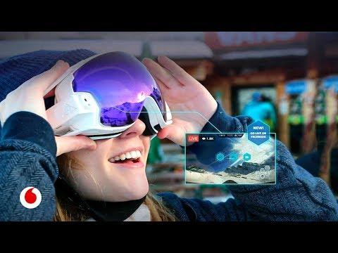Las gafas que convierten tu día de esquí en una experiencia digital única