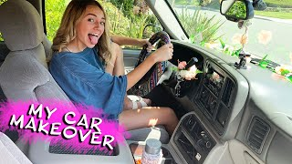 KAYLA'S 15 YEAR OLD CAR MAKEOVER   Kayla Davis