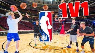 1v1 NBA ALL-STAR King of the Court vs. Jesser, Tristan Jass & ZackTTG