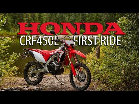 2019 Honda CRF450L – Dirt Bike Magazine