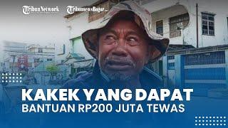 Pengemis yang Pernah Viral Dapat Bantuan Rp200 Juta Tewas, Taqy Malik: Ada Transaksi Tak Wajar