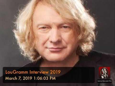 LouGramm Interview 2019