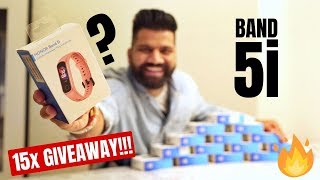 Honor Band 5i Unboxing & First Look - Best Fitness Band Under 2000Rs 15x Giveaway🔥🔥🔥