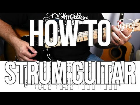 How to Strum Guitar | Intermediate Rhythm 1