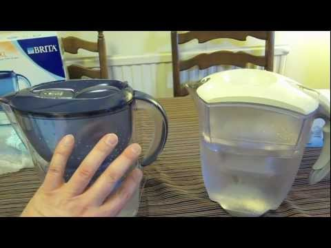 Brita Water filter Jug review of the Marella XL versus the Elemaris XL comparison Maxtra technology