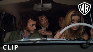 "Саша Питерс, Inherent Vice - ""Maybe You Shouldn't Be Driving Then"" Clip - Official Warner Bros. UK"