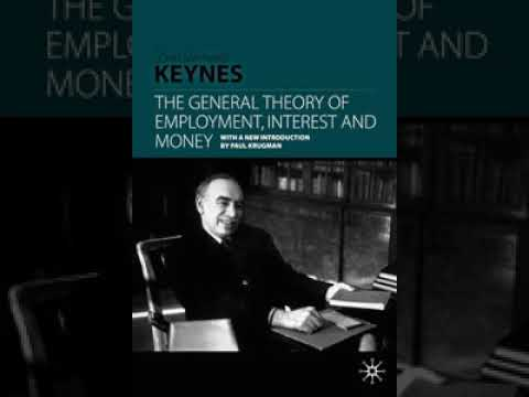 The General Theory of Employment, Interest and Money | Wikipedia audio article