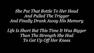 Whiskey Lullaby - Brad Paisley & Alison Krauss - Lyrics(On Screen)