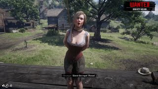 The Worlds oldest profession killer. Do you save her? Or leave to her fate?/ Hidden choices / RDR2