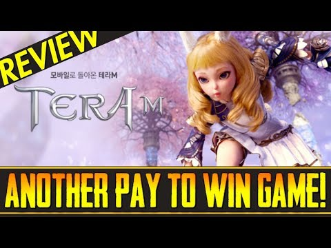 "Tera M (Review) – ""Another Pay To Win Mobile Game from Netmarble?""… A Lineage II Revolution Clone!"
