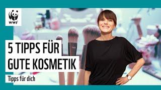 Kosmetik ohne Plastik, Mineralöl und Tierversuche: Darauf musst du achten | WWF Deutschland