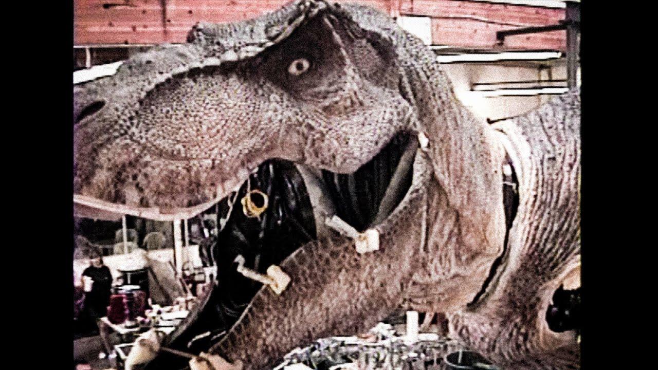 How Jurassic Park's Fearsome Robo-Rex Got Its Skin