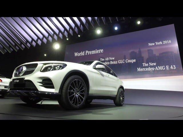 2017 Mercedes-Benz GLC Coupe - NYIAS Walk-around