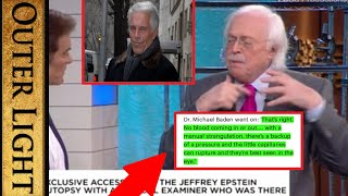 Michael Baden appears on Dr OZ to talk Epstein's autopsy: 'Something wrong with the eyes'
