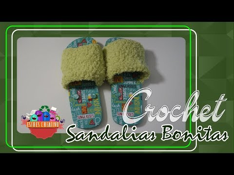 Sandalias Pachoncitas / Cozzy Sandals - YouTube