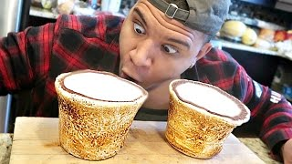 Gambar cover DIY GIANT MARSHMALLOW SHOT GLASSES TASTE TEST!!