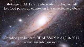 Channeling d' Al Faret ambassadeur d'Andromède