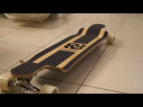 Review Skate Longboard Burnquist ES016