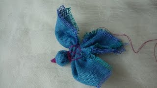 Make A Fabric Bird Without Needles - DIY Crafts - Guidecentral