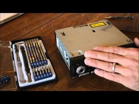 How To Fix Autoradio CD Error / CD klemmt / CD reparieren
