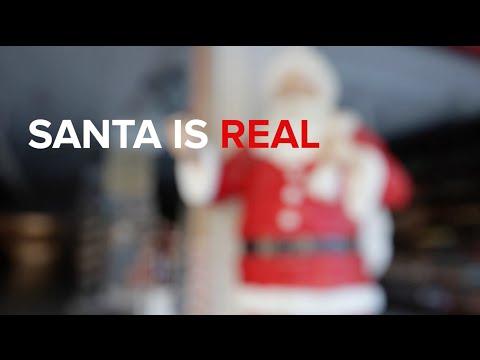 Santa is Real!