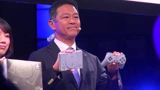 PlayStationClassicunveiledatTokyoGameShow2018[RAWVIDEO]