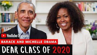 President Barack Obama's & First Lady Michelle Obama Commencement's Speech | Dear Class