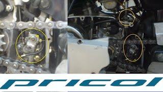 2T Oil Pump Pricol Suzuki Max100 Complete Disassemblyassembly.