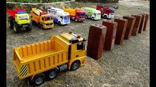Мультик про машинки. Трактор автокран - Правила дорожного движения! Новый мультфильм игра