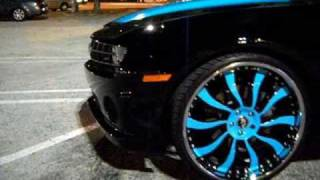 """Chevrolet Camaro, AceWhips.NET- 2011 Chevy Camaro SS on 24"""" Inferno Forgiatos"""