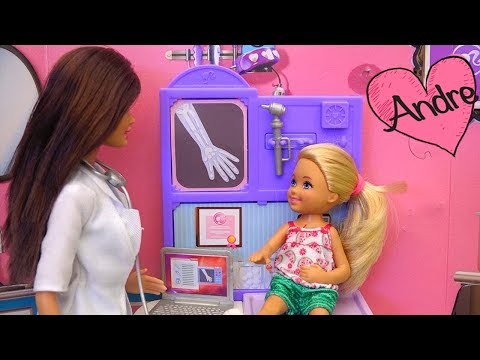 Historias con Barbie y Chelsea   Muñecas y juguetes con Andre para niñas y niños