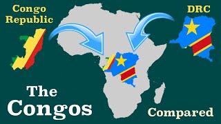 Democratic Republic of the Congo and Republic of the Congo Compared