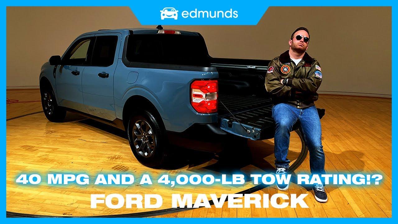 1j6QYW0MnNE - 2022 Ford Maverick First Look | The Maverick Returns as a Hybrid Pickup!