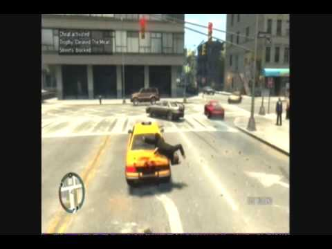 GTA 4 AMAZING CRASHES & HIGH SPEED BAIL OUTS VOLUME 1
