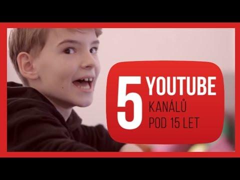 5 YOUTUBE kanálů pod 15 let