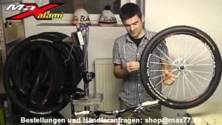 MaXalami - Tubeless Reparaturset für schlauchlose Fahrradreifen