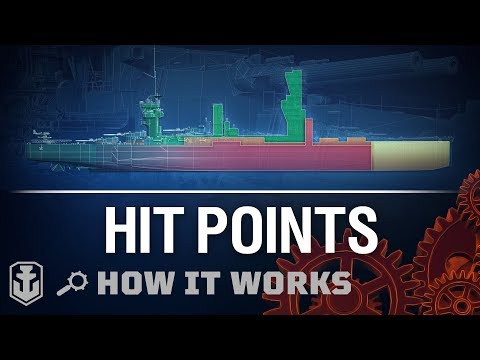 How It Works: Hit Points [World of Warships]