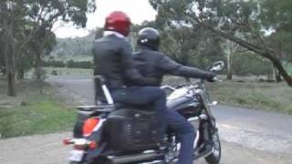 preview picture of video 'Motorcycle ride to Castlemaine & Mt Alexander'