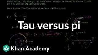 Tau versus Pi