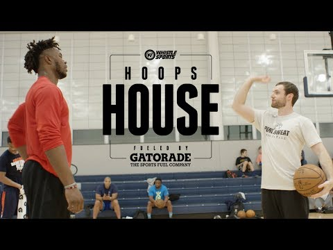 How Top Prospects Train For The NBA Draft | Hoops House