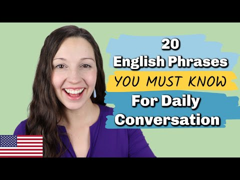 Download 20 Essential English Phrases for Daily Conversation Mp4 HD Video and MP3