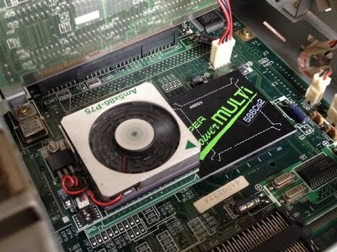 NEC PC-98 CPU Upgrade - The Obsolete Geek