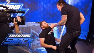 Baron Corbin goes into a rage: WWE Talking Smack, April 25, 2017 (WWE Network Exclusive)