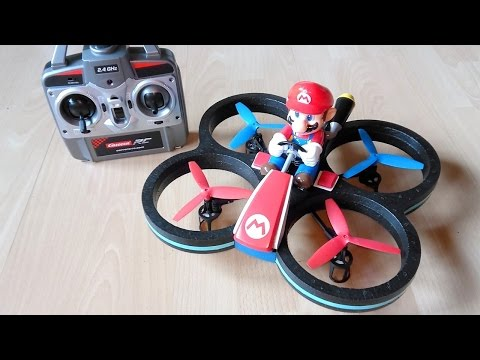 Carrera RC Mario-Copter - Der Super-Mario RC Quadcopter // Testbericht & Testflug