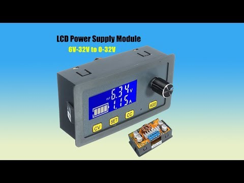 5A DC Adjustable CNC Step Down Power Supply Constant Voltage Current LCD Screen