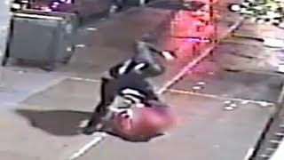 Video shows suspect in pair of brutal Bronx beatings, slashings