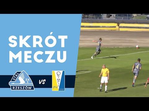 WIDEO: Stal Rzeszów - Olimpia Elbląg 2-0 [SKRÓT MECZU, BRAMKI]